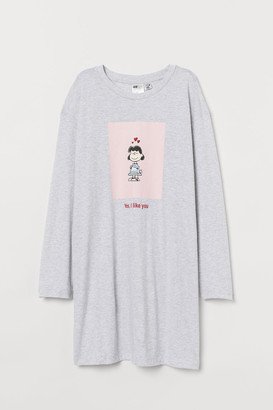 H&M Jersey Nightgown - Gray