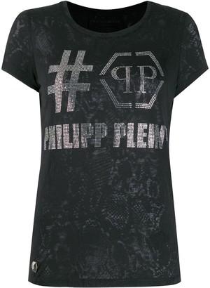 Philipp Plein destroyed T-shirt