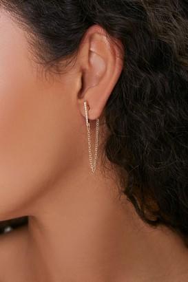 Forever 21 Threaded Drop Earrings