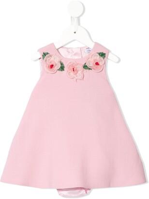Dolce & Gabbana Kids Flower Applique Dress