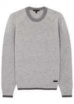 Belstaff Beckington Grey Wool Jumper