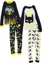 Komar Kids Black & Yellow Batman Pajama Set - Boys