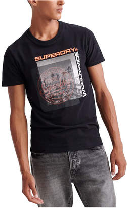 Superdry Men Ticket Type City Graphic T-Shirt