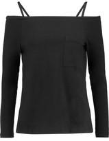 Robert Rodriguez Cold-Shoulder Cotton-Jersey Top