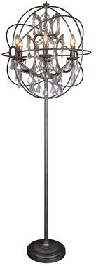 "House of Hampton Ormskirk 64"" Candelabra Floor Lamp"