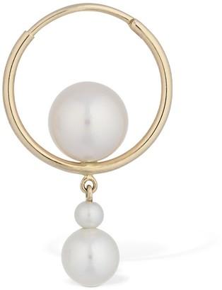 Sophie Bille Brahe Babylon Elipse Pearl Mono Earring