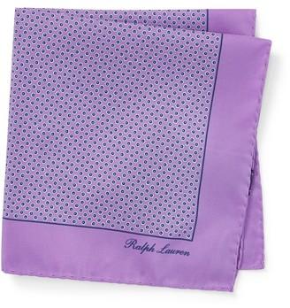 Ralph Lauren Hexagon Silk Pocket Square