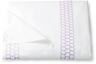 Matouk Liana Duvet Cover - Lavender King