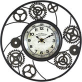 Asstd National Brand FirsTime Wires Gear Wall Clock