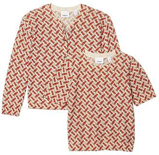 BURBERRY KIDS Katrina Set (Big Kids) (Vermillion) Girl's Clothing
