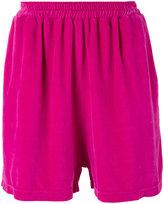 Paura elasticated waistband shorts - men - Cotton/Flannel - M