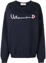 Drifter Ferrum embroidered sweatshirt - women - Cotton - XS/S