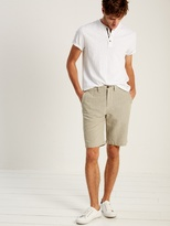 White Stuff Lodging mini check chino short