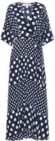 Diane von Furstenberg Eloise silk crepe de chine maxi dress