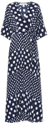 Diane von Furstenberg Eloise silk crApe de chine maxi dress