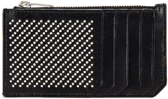 Saint Laurent Credit Card Holder in Black | FWRD