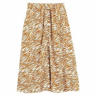 La Redoute Collections Plus Animal Print Skater Skirt