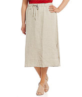 Eileen Fisher Plus Straight Skirt