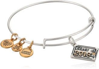 Alex and Ani Womens Class of 2018 EWB Bangle Bracelet