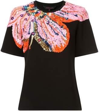 Manish Arora sequinned short sleeve T-shirt
