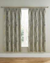 Fashion World Haze Thermal Lined Pencil Pleat Curtains