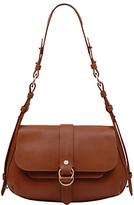 Radley Trinity Square Leather Medium Flapover Shoulder Bag