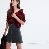 Madewell Studio Zip Skirt