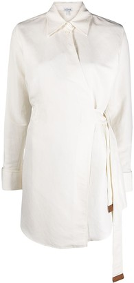 Loewe Wrapped-Front Shirt