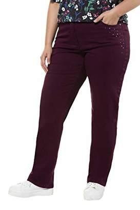 Ulla Popken Women's Jeans, verkürzt Straight,(Size of Manufcturer: 56)