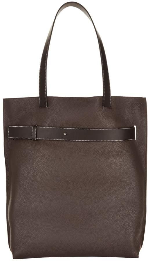 Loewe Leather Vertical Strap Tote Bag