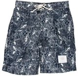 Thom Browne Floral Print Swimming Trunks w/ Tags