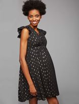 A Pea in the Pod Collective Concepts Keyhole Detail Maternity Dress