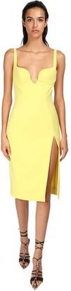Thierry Mugler Tech Midi Dress