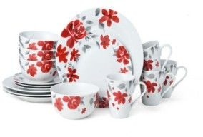 Pfaltzgraff Liana 16 Pc Dinnerware Set