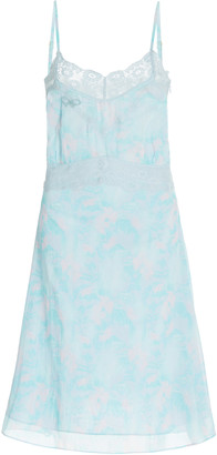 LoveShackFancy Rusalina Lace-Trimmed Cotton Dress