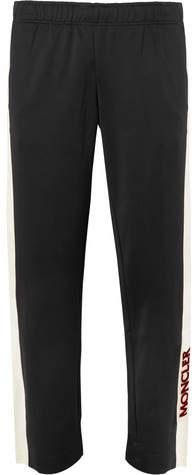Moncler Logo-Print Tech-Jersey Ski Pants