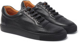 Harry's of London Mr Jones 2 Perforated Leather Sneakers