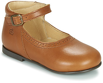 Citrouille et Compagnie LESTAL girls's Shoes (Pumps / Ballerinas) in Brown