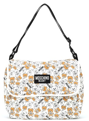 MOSCHINO BAMBINO Printed changing bag