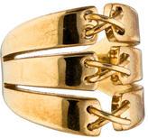 Rachel Zoe Stitched Split Shank Ring