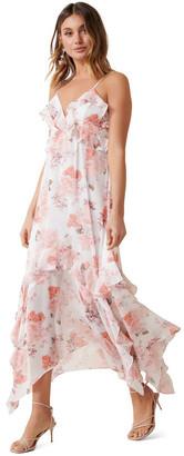 Forever New Hannah Ruffle Midi Dress