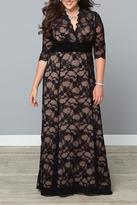 Kiyonna Formal Lace Gown