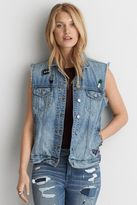 American Eagle Outfitters AE Oversized Denim Vest