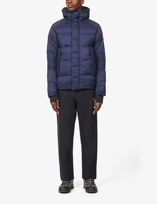 Canada Goose Armstrong hooded shell-down jacket