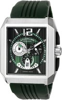 Stuhrling Original Men's 284A.3316D71 Sportsman Metropolis Chronograph Swiss Quartz Date Green Watch