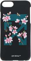Off-White cherry flowers iPhone 7 case - women - Polyester - One Size