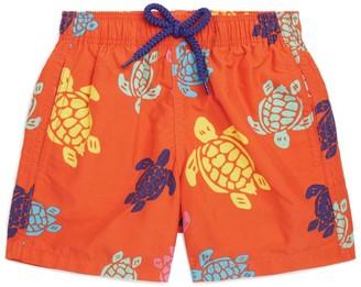Vilebrequin Kids Multicoloured Turtle Swim Shorts (2-14 Years)