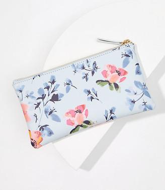 LOFT Floral Sunglasses Case