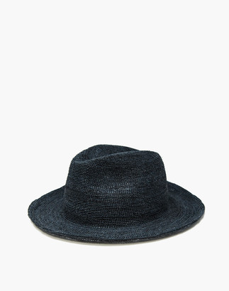 Madewell WYETH Straw Bailey Fedora Hat