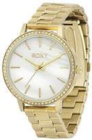 Roxy Women's RX/1010CMGP THE BELLS Swarovski Crystal Accented Gold-Tone Bracelet Watch